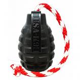 SodaPup - USA-K9 Magnum Grenade Reward Toy - XL - Black
