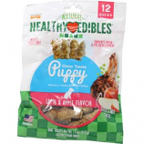 Nylabone - Healthy Edibles Puppy Pals Variety Chew Treat - Lamb & Apple - 12 Count