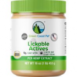 Green Coast Pet - Lickable Actives Pcr Hemp Extract - Peanut Butter - 16 Oz
