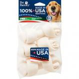Pet Factory - USA Beefhide Bones - 4-5 Inch