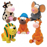 Zanies - Latex Toy PrePack - Medium - 5Pc