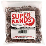 Healthy Haircare Product - Super Bands - Red- 1/4 Pound