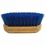 Imported Horse Supply - Pony Brush - Blue - 6.5 x 2.25 Inch