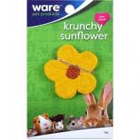 Ware - Bird/Sm An -Critter Ware Krunchy Sunflower -Yellow/Brown