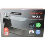 Aquatop Aquatic Supplies  - Pisces All In One Nano Aquarium - 5 Gallon - Black
