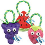 Griggles - Happy Fruit Rope Tug Strawberry