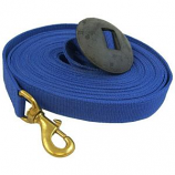 Imported Horse Supply -  Lunge Line with Rubber Stop - 25 Feet