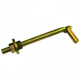 Henssgen Hardware - Bolt Hook For Gate - 5/8 X 12 Inch