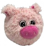 Petlou - EZ Squeaky Pig Ball - 4 Inch
