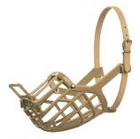 Leather Brothers - Italian Basket Muzzle - Size 10 - Tan