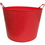 Tuff Stuff Products - Flex Tub  - Red  - 4.2 Gallon