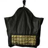 Horse And Livestock Prime -Hay Bag Slow With Front Net - Black - 10.5 X 12 X .25