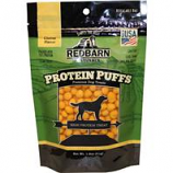 Redbarn Pet Products - Protein Puffs Dog Treat - Cheese -  1.8 Ounce
