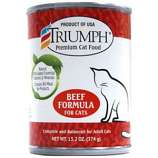 Triumph Pet - Canned Cat Food - Beef - 13.2 oz