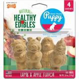 Nylabone - Healthy Edibles Puppy Pals Variety Chew Treat - Lamb & Apple - 4 Pack