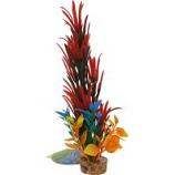 Blue Ribbon Pet Products -Color Burst Florals Large Brush Plant - Red - Large