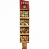 The Wild Bone Company - Jerky & Cutlet Dog Treat Display - 48 Piece