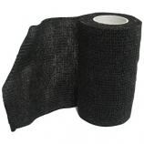 Animal Supplies International - Wrap-It-Up Flex Bandage - Black - 4 Inch x 5 Yard