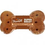 Triumph Pet Industries - Triumph Super Single Biscuits - Gingerbread - 3.5 oz