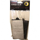 Aquatop Aquatic Supplies - Forza Replacement Filter With Activated Carbon - Black -25 Gallon