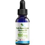 Green Coast Pet - Full-Spectrum Hemp Oil For Dogs - 100 Mg/1 Oz