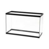 Aqueon Products - Glass - Standard Rectangular Aquarium Tank - Black - 29 Gallon