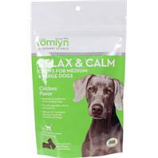 Tomlyn Products - Relax And Calm Chews For Medium And Large Dogs - Chicken - 30 Count