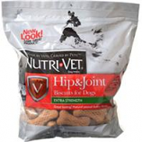 Nutri-Vet Wellness - Hip & Joint Level1 Lg Wafers - Peanut Butter - 6 Lb