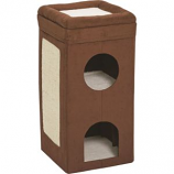 Midwest Homes For Pets - Curious Cat Condo - Brown - 14.6X14.75X30
