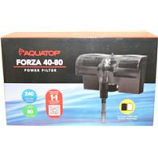 Aquatop Aquatic Supplies - Forza Power Filter With Skimmer - Black - 80 Gallon