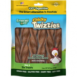 Emerald Pet Products - Twizzies Sticks - Chicky - 6 Inch