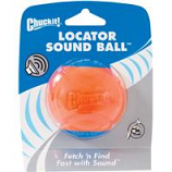 Canine Hardware - Chuckit! Locator Sound Ball - Blue / Orange - Medium