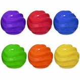 Multipet International - TPR Spiral Ball - Assorted - 4 Inch