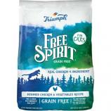 Triumph Pet Industries - Free Spirit Dry Cat Food - Chicken/Vegetab - 11 Lb
