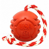 SodaPup - USA-K9 Stars and Stripes Ultra-Durable Reward Toy - Large - Red