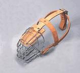 "Leather Brothers - 5/8"" Lea Wire Basket Muzzle - Medium"