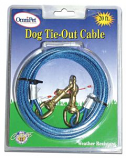 Leather Brothers - 20' Tie-Out Cable - Blue
