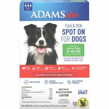 Farnam Pet - Adams Plus Flea & Tick Spot On Dog - Large/3 Month