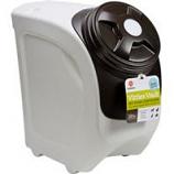Gamma Plastics  - Vittles Vault Home Stackable - Mocha Granite - 18 Lb+