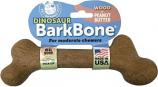 Pet Qwerks - Dinosaur Barkbone - Peanut Butter/Wood - XXXlarge