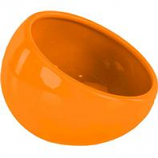 Ware Manufacturing  Bird / Small Animal - Eye Bowl Ceramic - Orange - Large