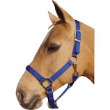 Horse And Livestock Prime - Premium Halter Chin With Snap - Blue - Average