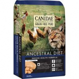 Canidae - Pure  - Ancestral Raw Coated Cat Dry Food - Chicken - 10 Lb