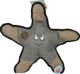 Snugarooz - Snugz Sophie The Starfish W/Rubber Spikey Ball - Grey - 21 Inch