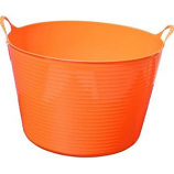 Tuff Stuff Products - Flex Tub  - Orange  - 4 Gallon