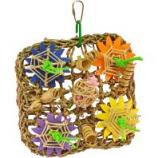 A&E Cage Company  - Happy Beaks Deluxe Vine Mat Bird Toy - Small - Multi