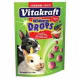 Vitakraft Pet Products - Drops With Wild Berry - Rabbit - Wild Berry - 5  oz
