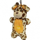 Charming Pet Products - Peek - A - Boo Giraffe Dog Toy - Multi - Med/9 Inch