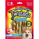 Pet Factory - Twistedz Beefhide Twist Sticks