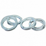 Imported Horse Supply - Plated Ring Fasteners - 10 Pack